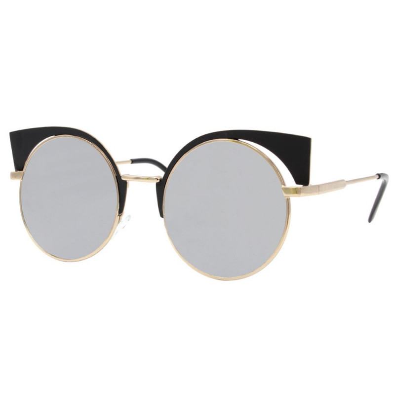 LU0021 BOBIJOO Jewelry Lunettes de soleil Pin-Up Oeil de Chat