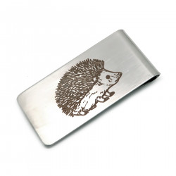 PB0013 BOBIJOO Jewelry Money clip Stainless Steel Matt Ground the Choice