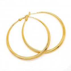 BOF0097 BOBIJOO JEWELRY Earrings Ring hoop earrings stainless Steel Gold 45 or 55mm