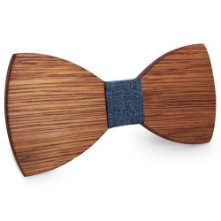 NP0046 BOBIJOO Jewelry Bow tie Classic Wooden Elegance in The choice