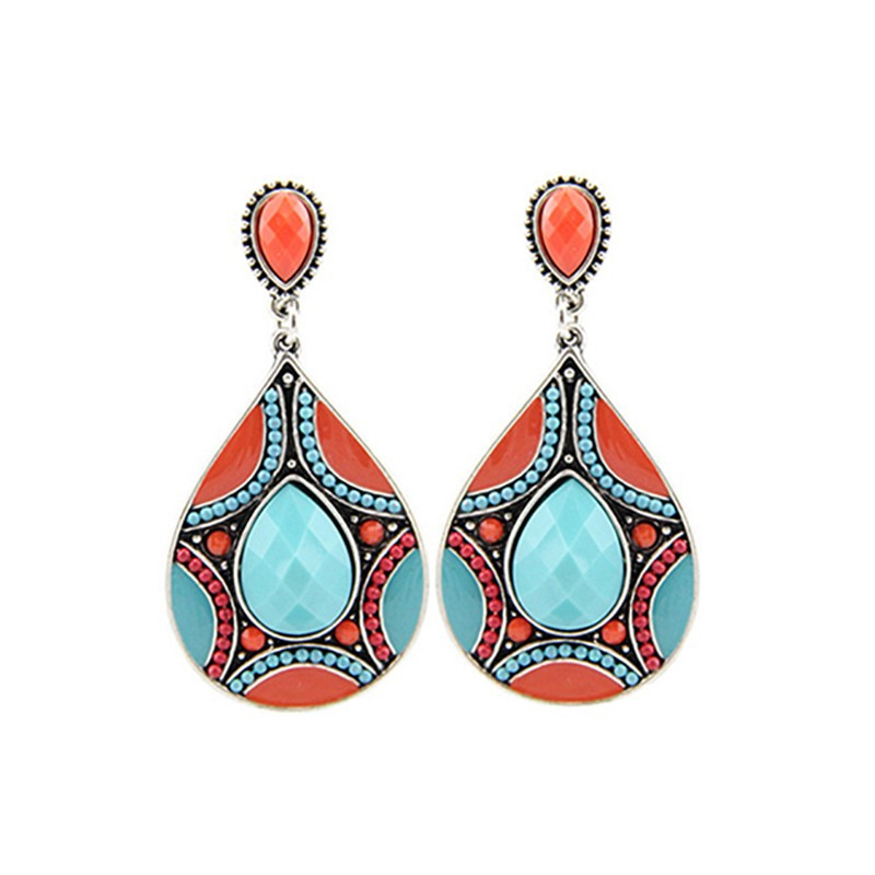 BOF0012 BOBIJOO JEWELRY Aretes Multicolor