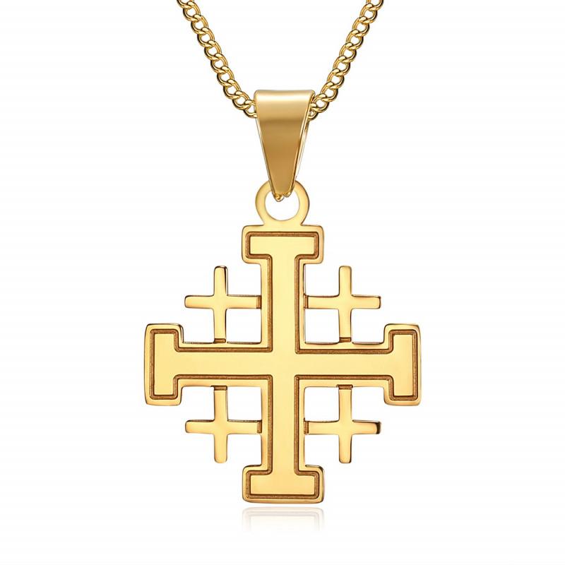 Pendentif Croix de J/érusalem