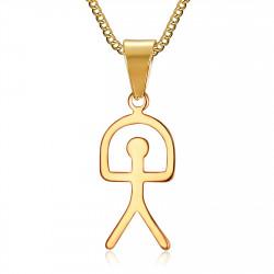 PE0183 BOBIJOO Jewelry Anhänger Indalo Glücksbringer Glück-Symbol, Spanien