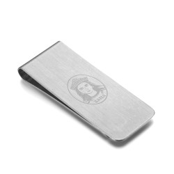 PB0015S BOBIJOO Jewelry Money clip Stainless Steel Brushed Sainte Sara