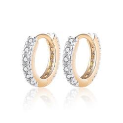 BOE0010 BOBIJOO Jewelry Orecchini In Oro Bambino Ragazza Donna Strass