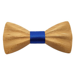 NP0062 Gaston et Ferdinand Bow tie Classic Wooden and 3D Clear