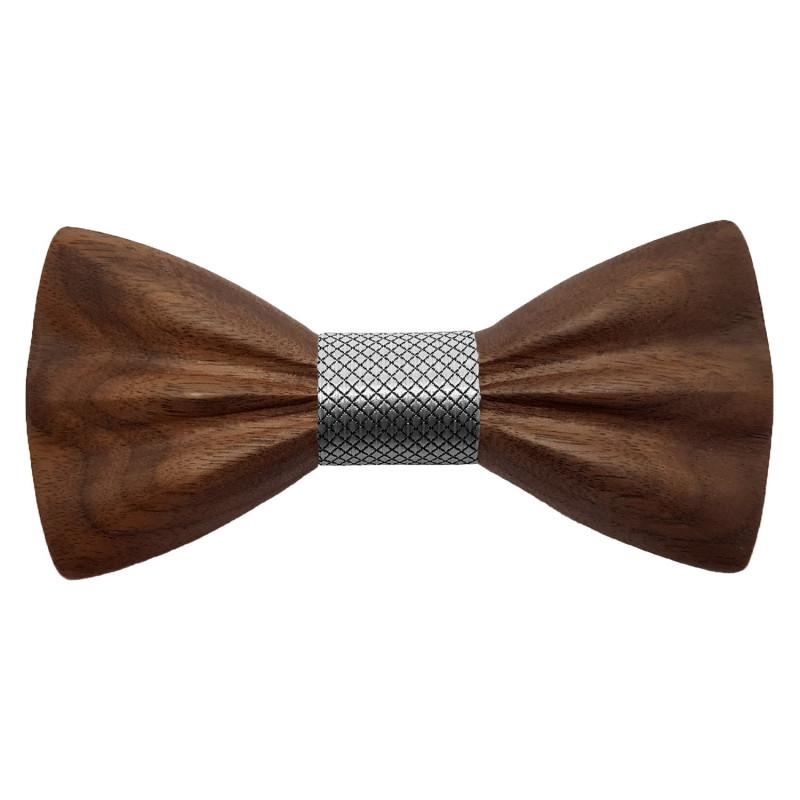 NP0064 Gaston et Ferdinand Bow tie Classic Wooden and 3D Dark