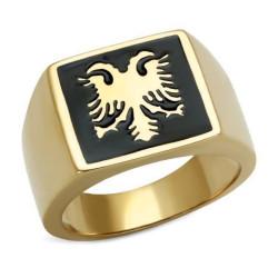 Ring Siegelring Zweiköpfige Adler Bizantin