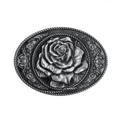 Boucle de Ceinture Rose Lady Rider 3D bobijoo