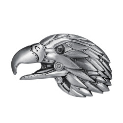 BC0006 BOBIJOO Jewelry Belt buckle Eagle Head of USA 3D