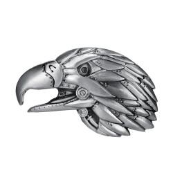 Boucle de Ceinture Tête d'Aigle USA 3D bobijoo