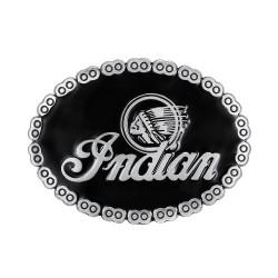 BC0007 BOBIJOO Jewelry La hebilla del cinturón de Indian Motorcycle el Ciclista de