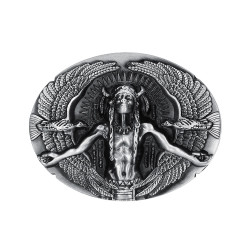BC0014 BOBIJOO Jewelry Belt buckle of Indian Man Eagles USA Triker