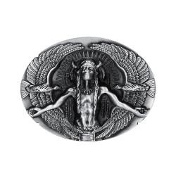 BC0014 BOBIJOO Jewelry Hebilla del cinturón de Hombre Indio Águilas, estados UNIDOS Triker