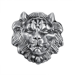 BC0021 BOBIJOO Jewelry Belt buckle Lion Head Fierce Power