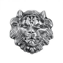 BC0021 BOBIJOO Jewelry Hebilla de cinturón de Cabeza de León Feroz Poder