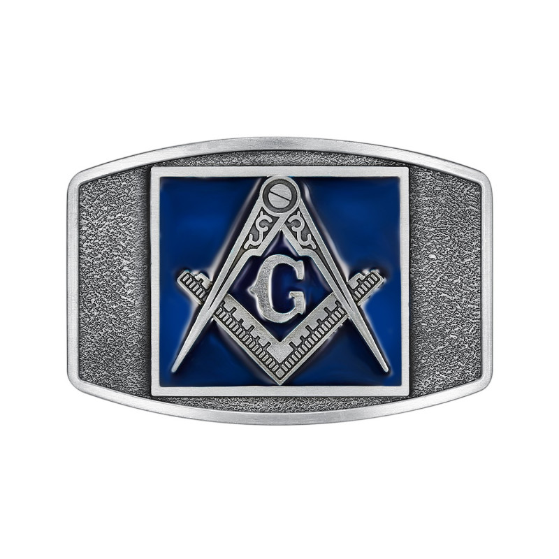 BC0024 BOBIJOO Jewelry Belt buckle free Mason Email Blue
