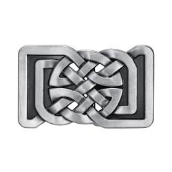 BC0026 BOBIJOO Gioielli Fibbia della Cintura Quadrato Nodi Celtici Infinito
