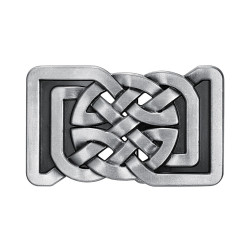 BC0026 BOBIJOO Jewelry La hebilla del cinturón de la Plaza de Nudos Celtas Infinito