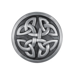 BC0028 BOBIJOO Jewelry Belt buckle Round Knots Celtic