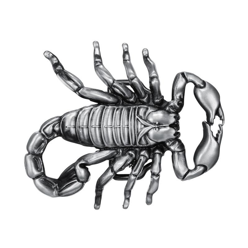 BC0039 BOBIJOO Jewelry Gürtelschnalle Skorpion Wüste, USA