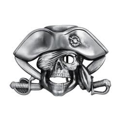 BC0043 BOBIJOO Gioielli Fibbia della Cintura Motociclista Pirata