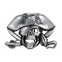BC0043 BOBIJOO Jewelry Hebilla del cinturón Ciclista Pirata