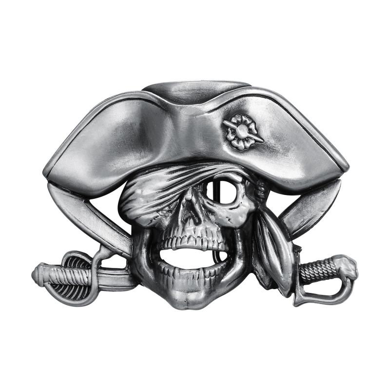 BC0043 BOBIJOO Jewelry Boucle de Ceinture Biker Pirate