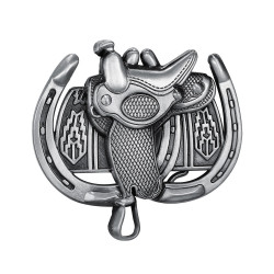 BC0044 BOBIJOO Jewelry Belt buckle Horse Saddle Western