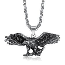PE0282 BOBIJOO Jewelry - Anhänger Adler Symbol, USA-Freiheit-Biker-Triker