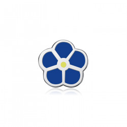 PIN0001 BOBIJOO Jewelry Pine Flower Forget-Me-Not Masonic Lapel