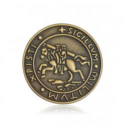 Pins Siegel des Ordens der Tempelritter Armen IM#18563