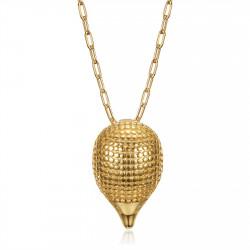 PE0319 BOBIJOO Jewelry Pendentif hérisson pour femme au style gitan Acier Or