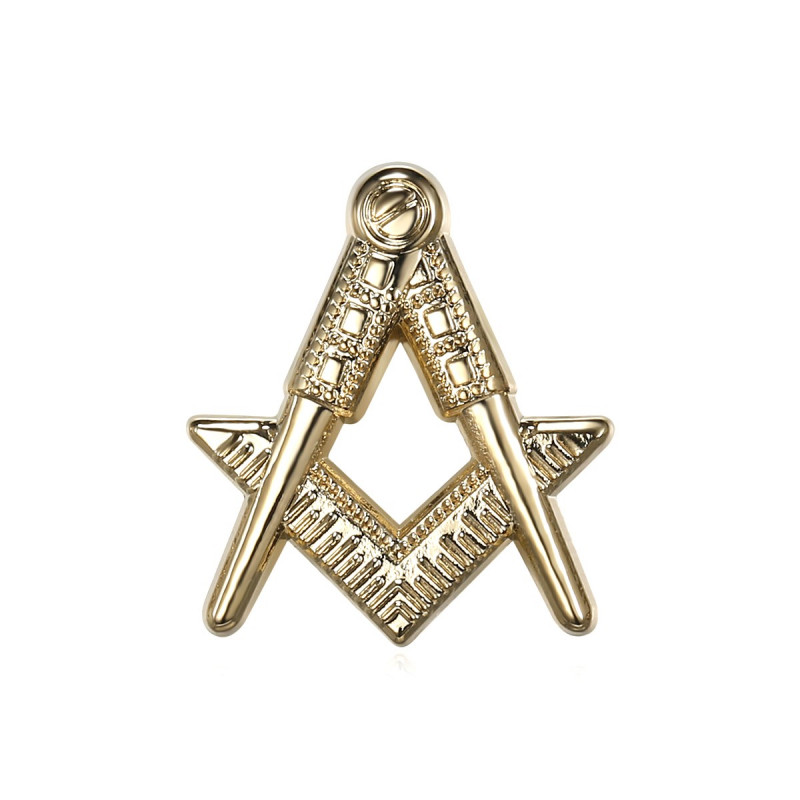 Pine Frank Mason G Bracket Compass Gold IM#19068