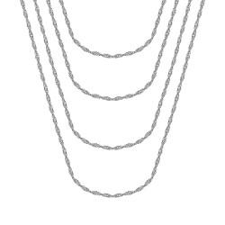 COH0037S BOBIJOO Jewelry Singapore mesh catena da donna in acciaio argento