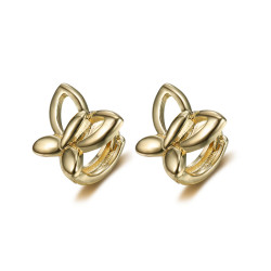 BOE0008 BOBIJOO Jewelry Orecchini farfalla oro bambino bambino oro