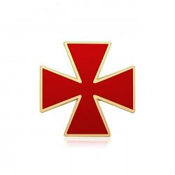 El pino de la Cruz Roja de Constantino Orden de los caballeros Templarios IM#19966