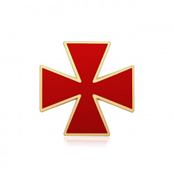 Pine Red Cross Constantine Order of the knights Templar IM#19966