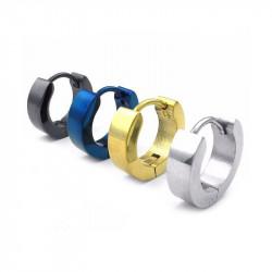 BOF0003 BOBIJOO JEWELRY Pendientes de Titanio de 4 colores