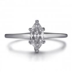 BAF0055S BOBIJOO Jewelry Anillo marquesa, discreta joya de acero