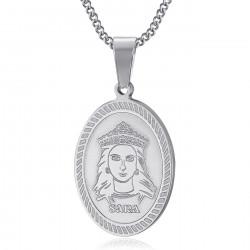 PEF0061S BOBIJOO Jewelry Ciondolo Medaglia di Sara la Nera Saintes Maries de la Mer