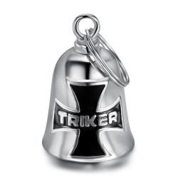 Guardian bell Triker Croix de Malte Acier inoxydable bobijoo
