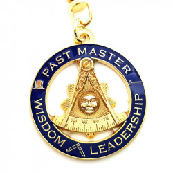 PCL0003 BOBIJOO Jewelry Key Ring Masonic Past Master