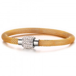 Bangle Gold Plated Magnetic