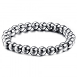 BR0077 BOBIJOO Jewelry Beads Bracelet, Stainless Steel