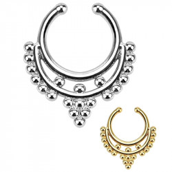 PIP0004 BOBIJOO Jewelry Tabique Falso Piercing en la Nariz 2 Colores a elegir
