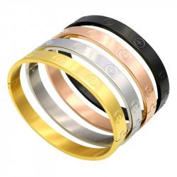 Bracelet Eternal Amour 4 Couleurs au Choix Acier Inoxydable