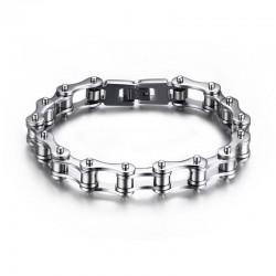 BR0131 BOBIJOO Jewelry Armband Kette Motorrad Stahl