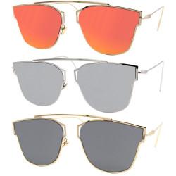 LU0015 BOBIJOO Jewelry Sonnenbrille Metall Design