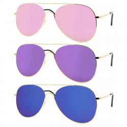LU0018 BOBIJOO Jewelry Gafas de sol Vintage Pop para Mujer